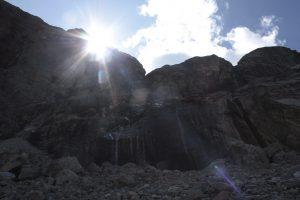 Sonnenaufgang Badrinath